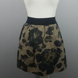 J Crew - Floral Cotton Skirt